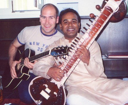 Richard in rehearsals with Gaurav Mazumdar, Austria