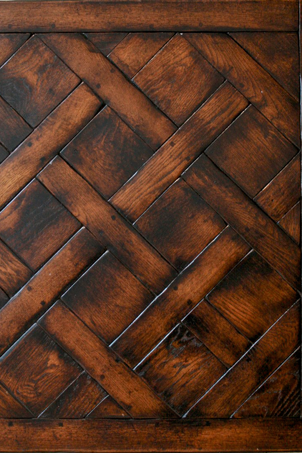 Oak Basketweave-Jacobean