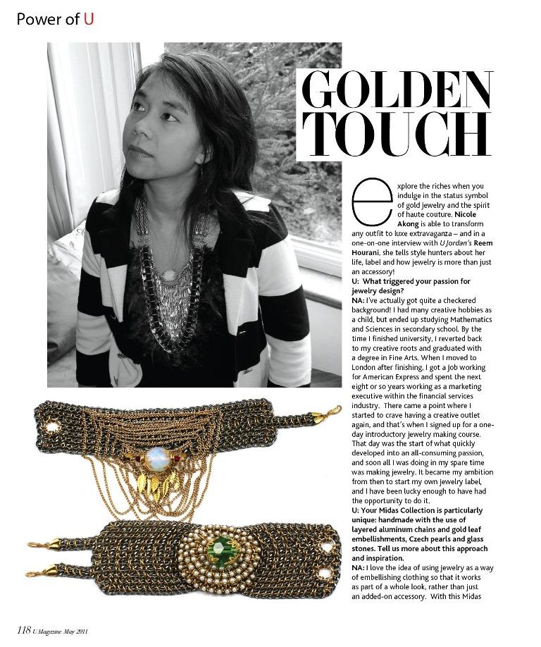 2011-05 U Magazine - Inside 1.jpg