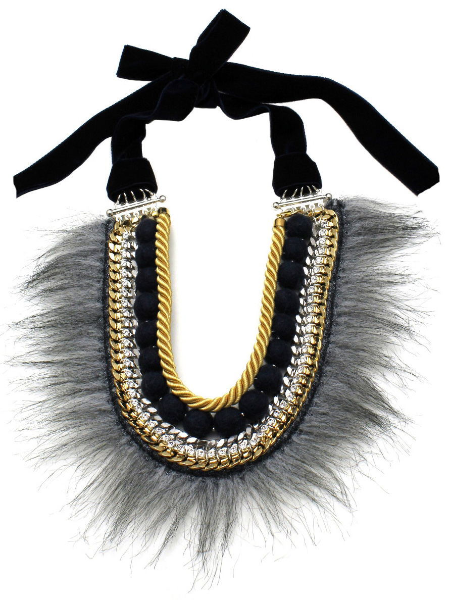 040 - Fur & Felt Ball Neckace.jpg