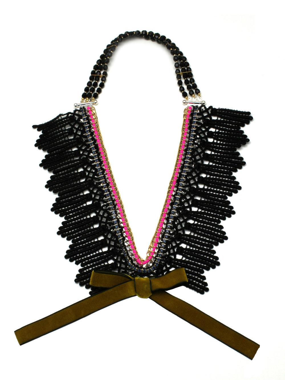 051 - Black Lace Ribbon Necklace.jpg