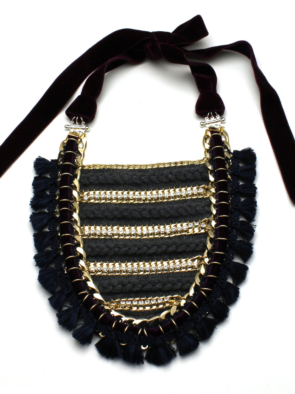 043 - Wool & Crystal Bib Necklace.jpg