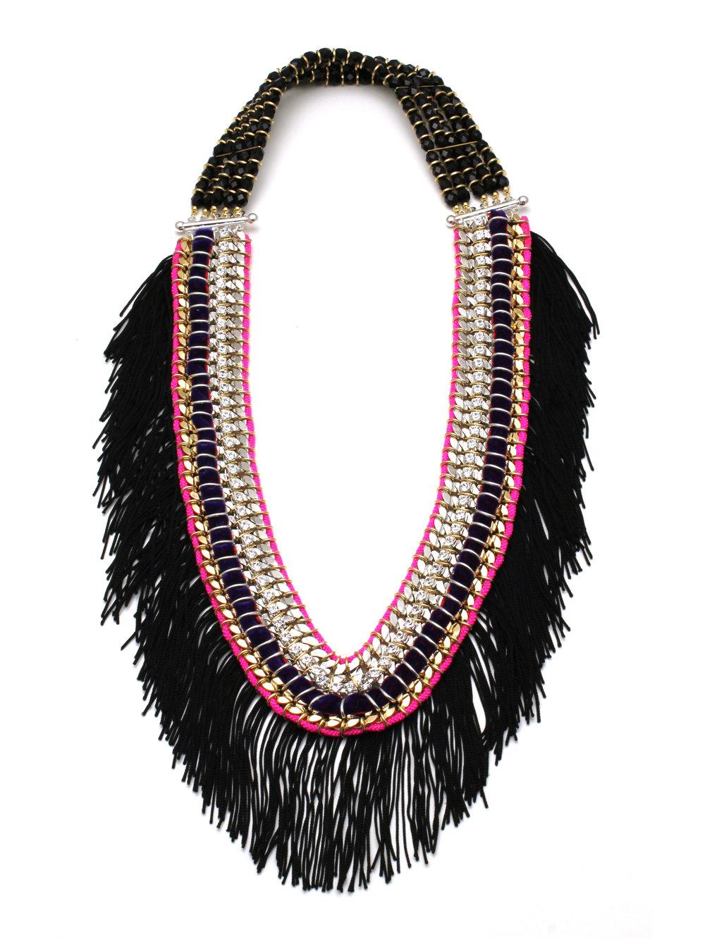 046 - Black Fringe Ribbon Necklace.jpg