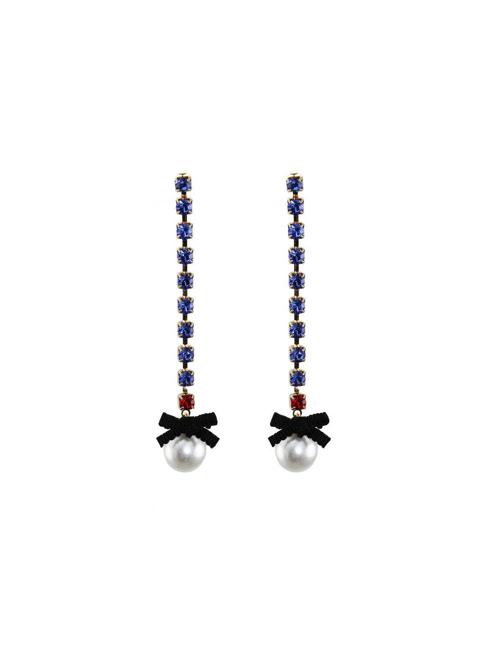 074 - Sapphire & Pearl Bow Earrings.jpg