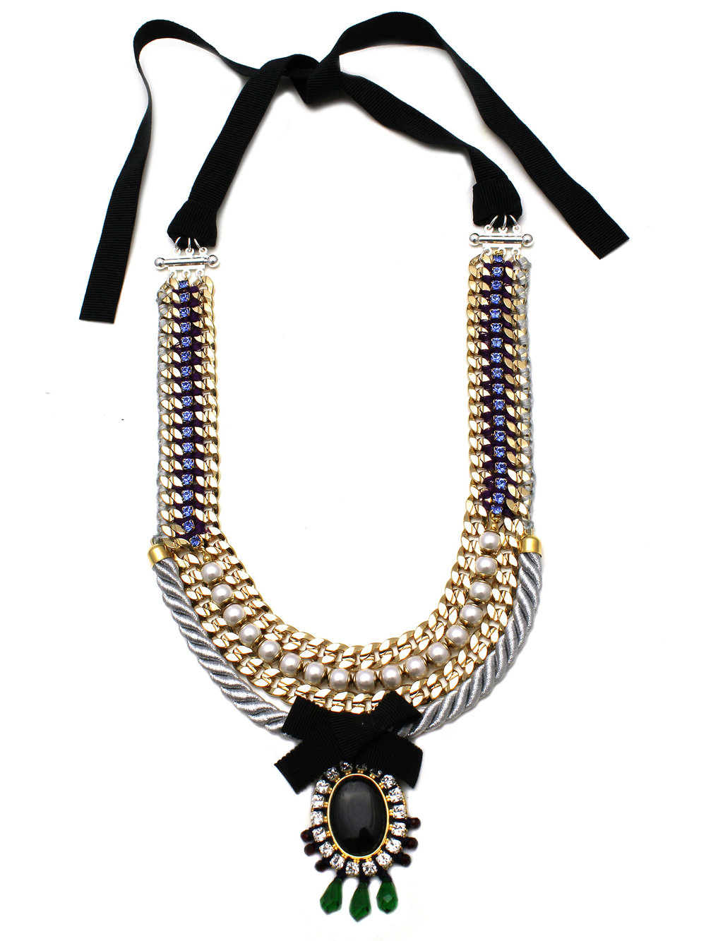 070 - Sapphire & Pearl Cord Necklace.jpg