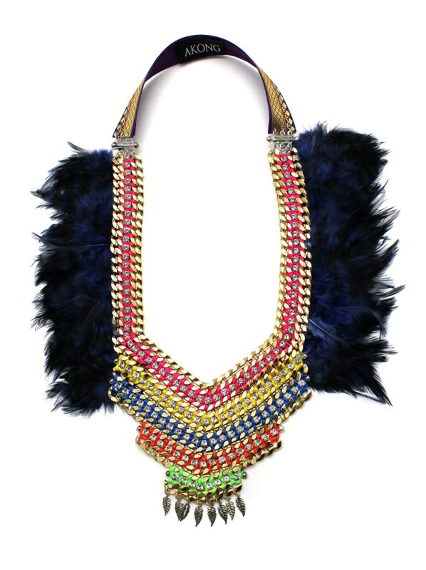 080 Feather & Crystal Technicolour Necklace.jpg