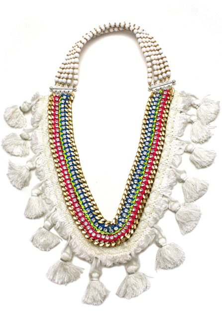 081 White Tassel Technicolour Necklace.jpg
