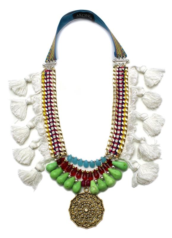 086 White Tassel Tribal Necklace.jpg