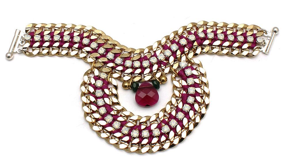094 Ruby & White Opal Bracelet.jpg