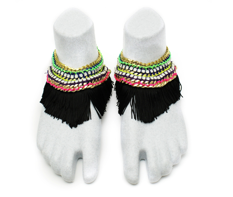 096 Black Fringe Technicolour Foot Embellishment [2].jpg