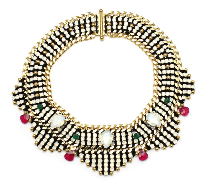 106 - White Opal Embellished Deco Necklace.jpg
