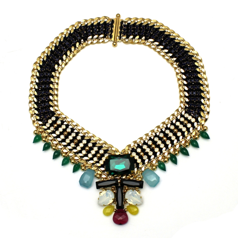 111 - Midnight Embellished V Necklace.jpg
