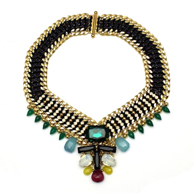 111 - Midnight Embellished V Necklace.jpg