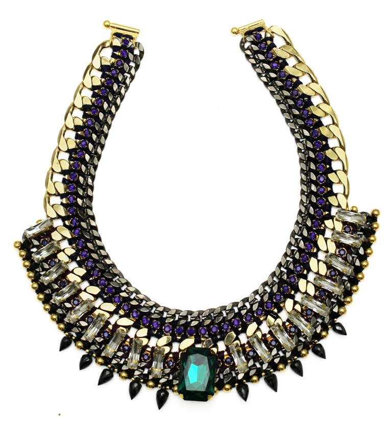 117 - Midnight Embellished Spiked Necklace.jpg