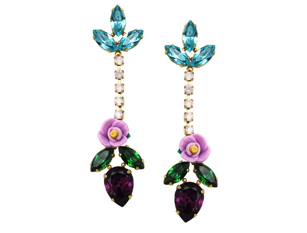 160 Long Botanical Drop Earrings.jpg