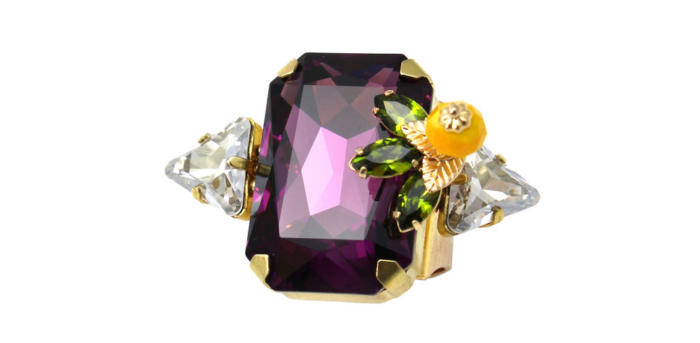 167PL Rectangle Deco Ring with Figleaf - Purple.jpg
