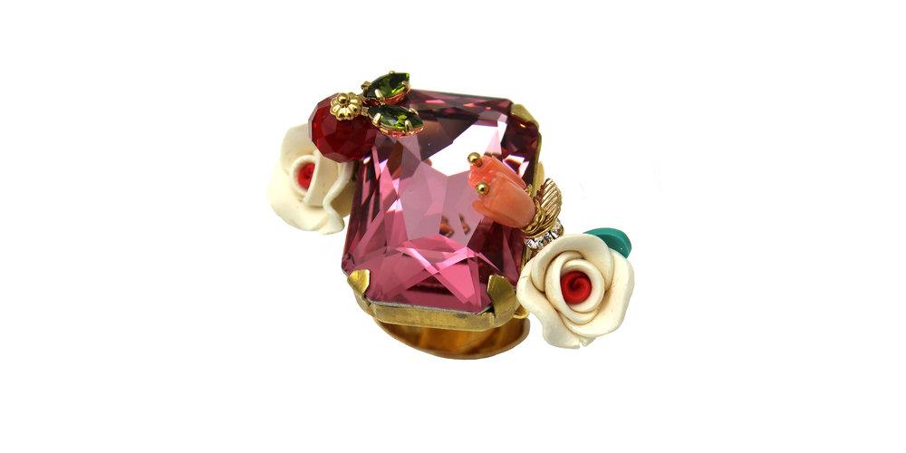 169 Rectangle Botanical Ring - Pink.jpg