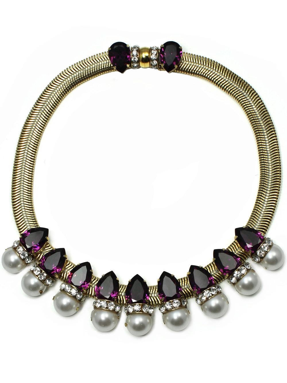 171N-PW Aragon Necklace - Purple_White.jpg