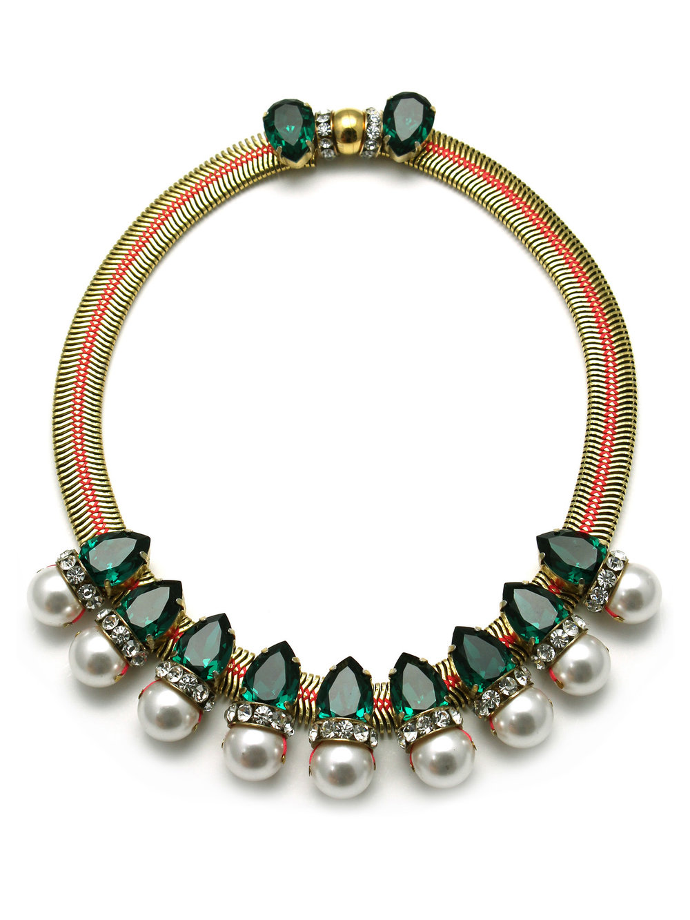 171N-GWP Aragon Necklace - Green_White.jpg