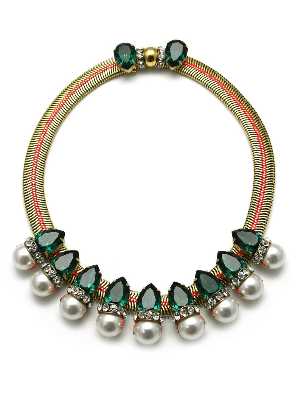 171N-GWP Aragon Necklace - Green_White.jpg