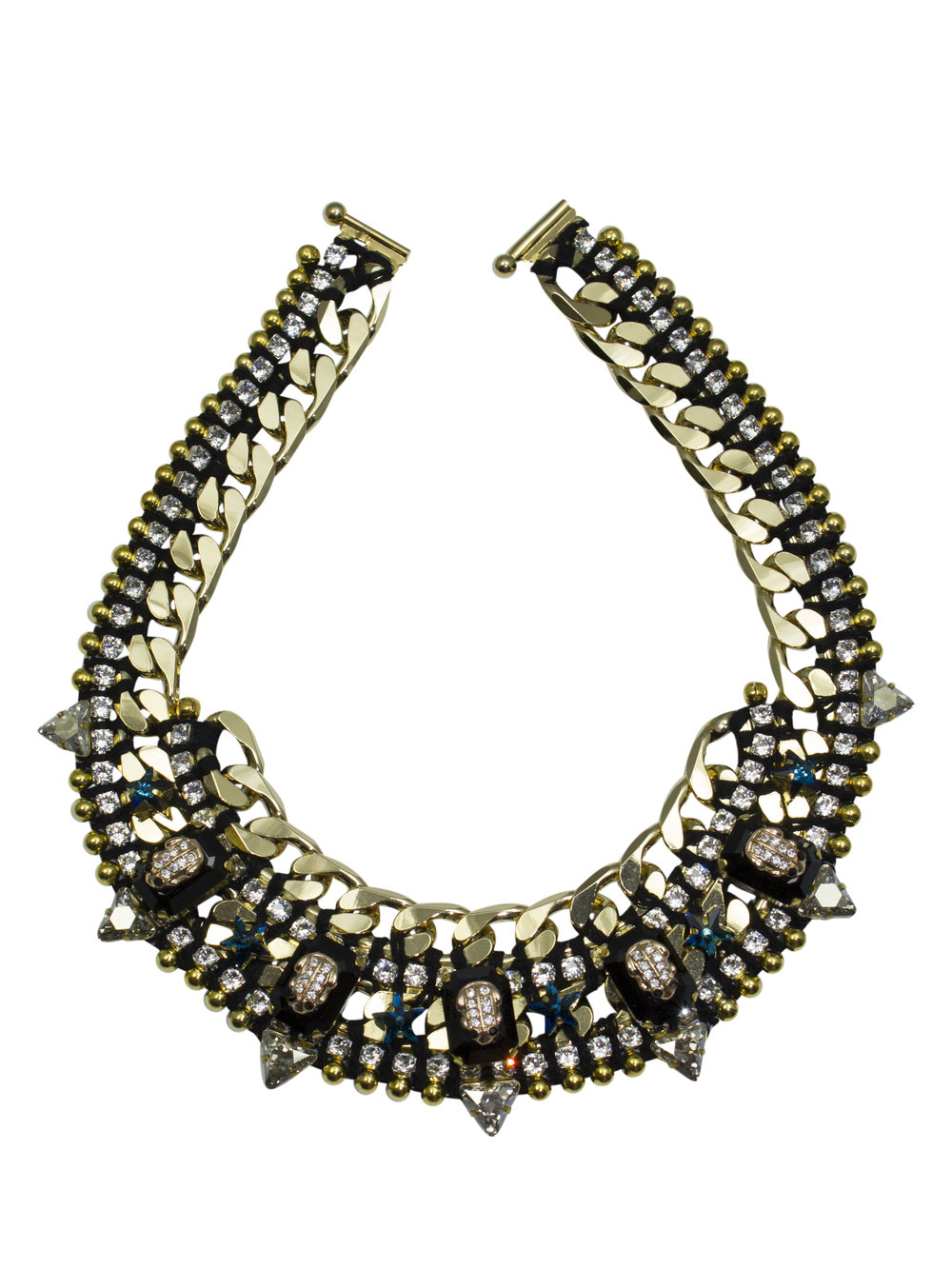 210N Black & Crystal Star Military Necklace.jpg
