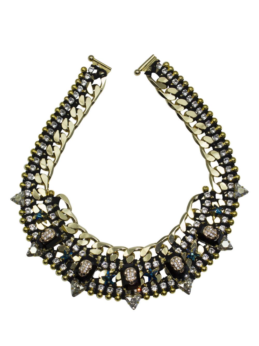 210N Black & Crystal Star Military Necklace.jpg