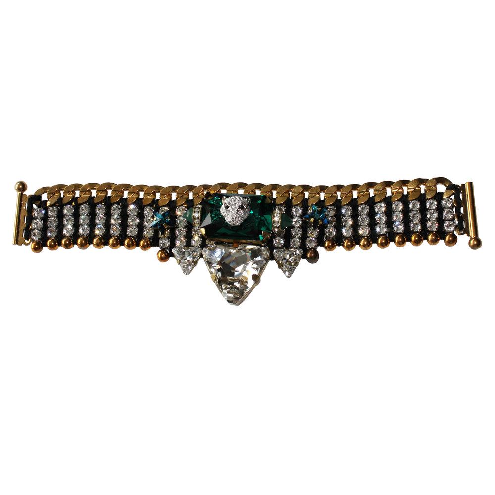 227B Crystal Triangle Military Bracelet.jpg
