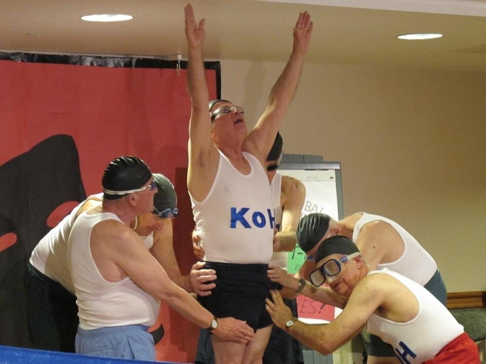Gala  water ballet class skit