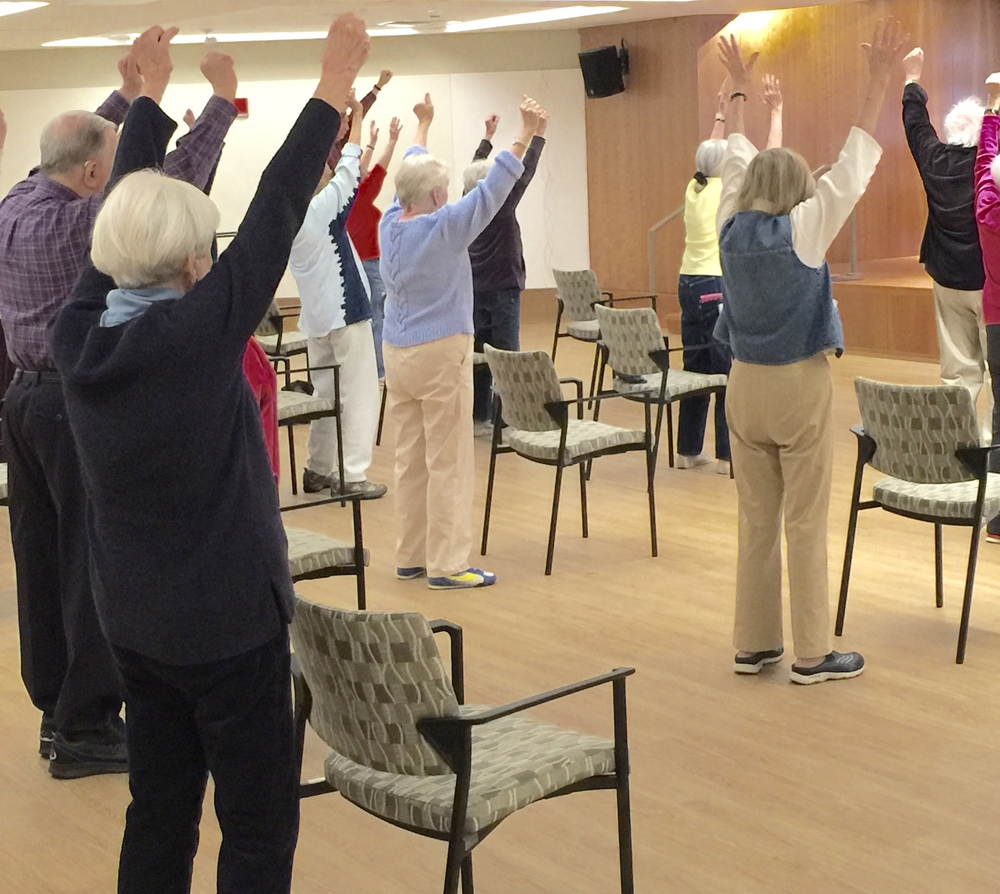 Morning stretch and balance class 9-9:20 am, M-F