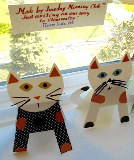 Cats created by Tues. AM Group