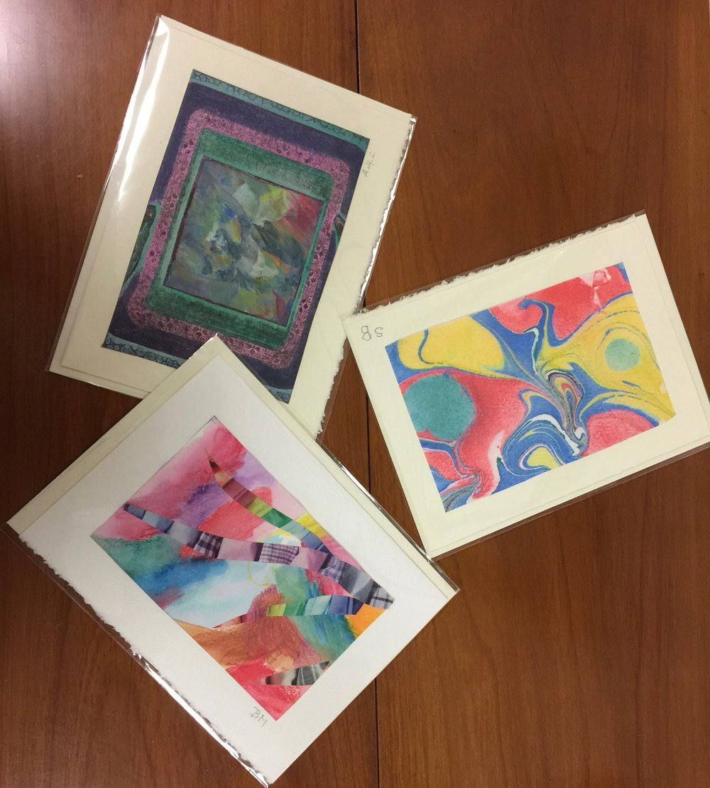 Art Committee Selling Greeting Cards By Kendal Artists Friday Dec 2