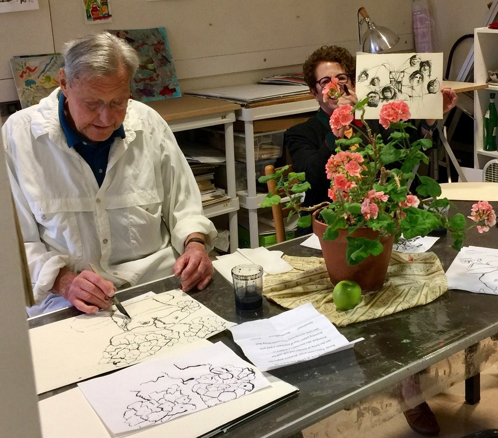 One of Pam's prior workshops at Kendal  Photo by Caroline Persell