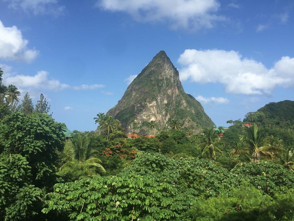 Petit Piton, St. Lucia