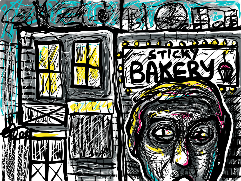Get Baked in the Sticky City Bakery