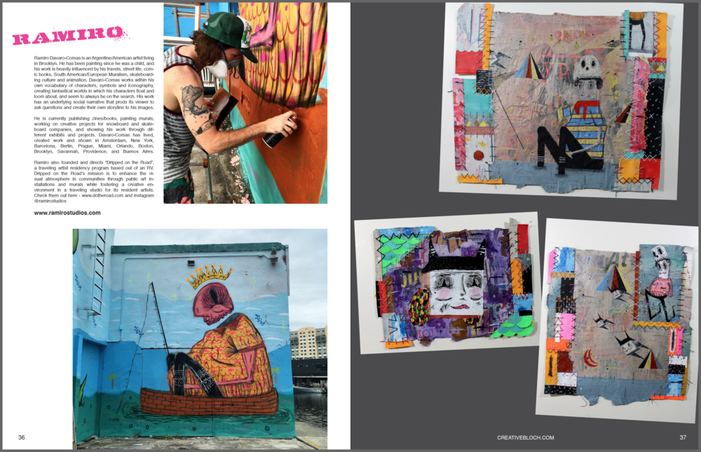 Artist Ramiro - Issue #2