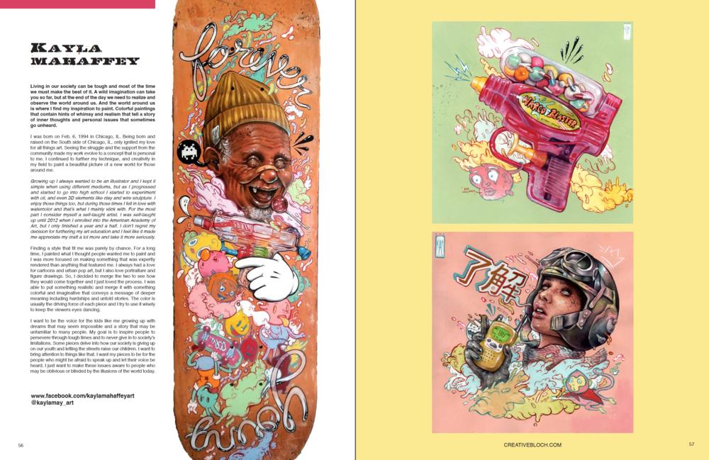 Winner Issue #4 - Kayla Mahaffey