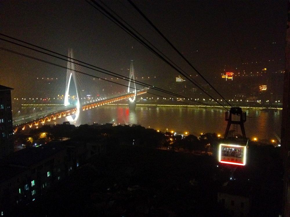 Yangtze river cableway.