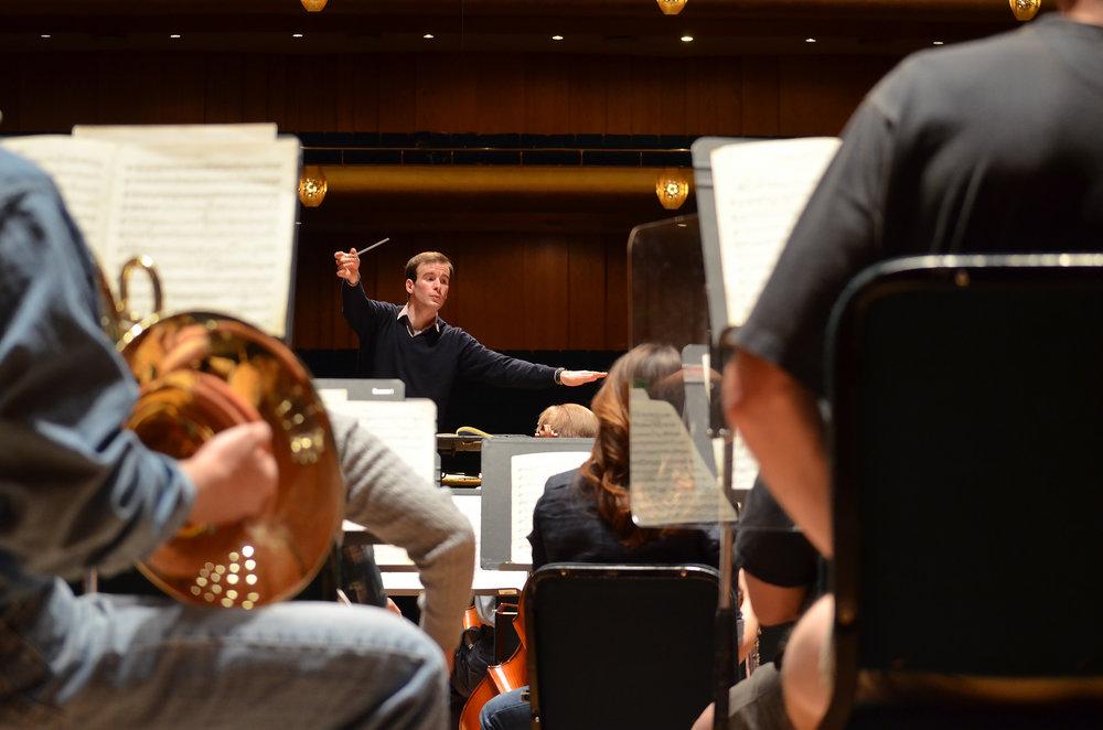 Brahms Second Symphony with the Utah Symphony, at Abravanel Hall