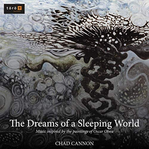 For woodwind soloist with choir, orchestra, and organ, this hour-long work by Chad Cannon explores ten paintings from the fantastical world of  Japanese-Brazilian artist Oscar Oiwa. Hollywood Studio Symphony conducted by Vladimir Kulenovic. - iTunes | Spotify