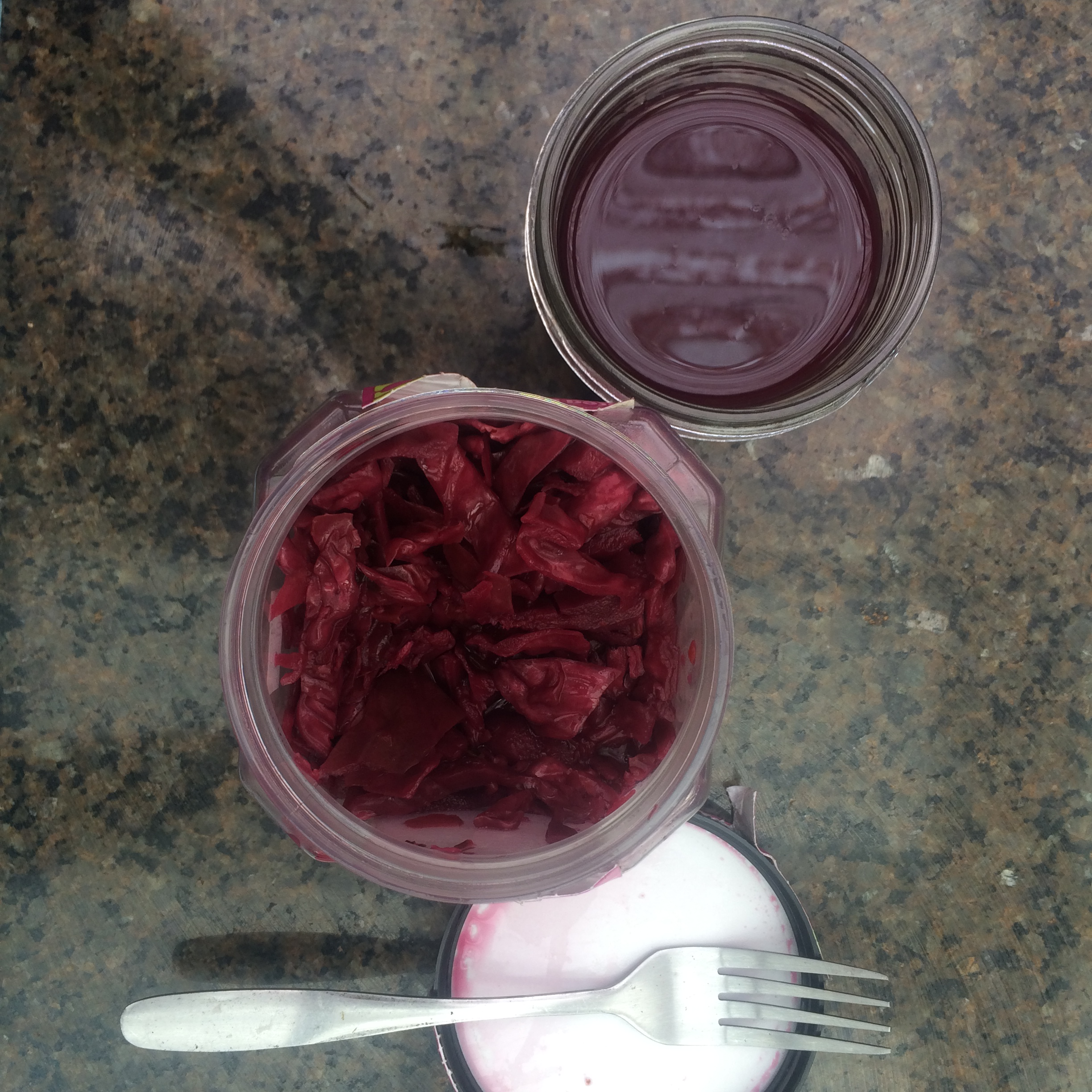 Red Cabbage and Beet kraut