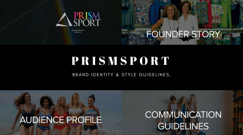 PRISMSPORT Yoga Athleisure Wellness Marketing Branding Rachelle Robinett