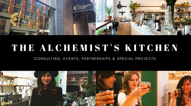 The Alchemist's Kitchen Rachelle Robinett Wellness Marketing Sales