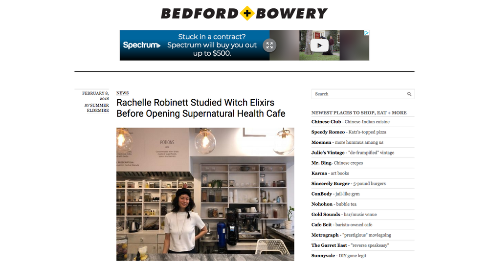 Rachelle Robinett Supernatural Bedford+Bowery