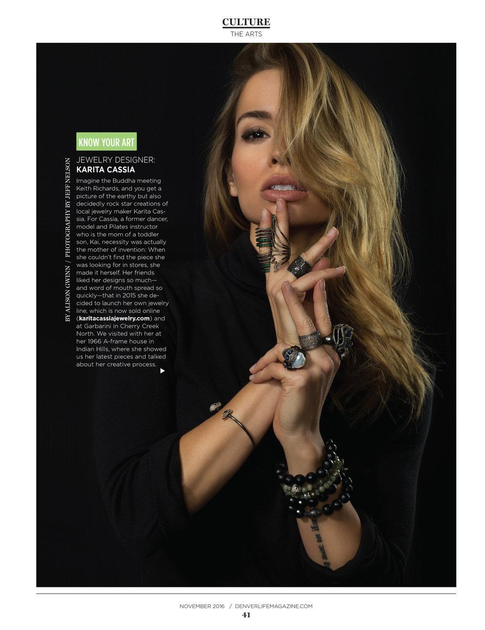 Denver Life Magazine     Interview