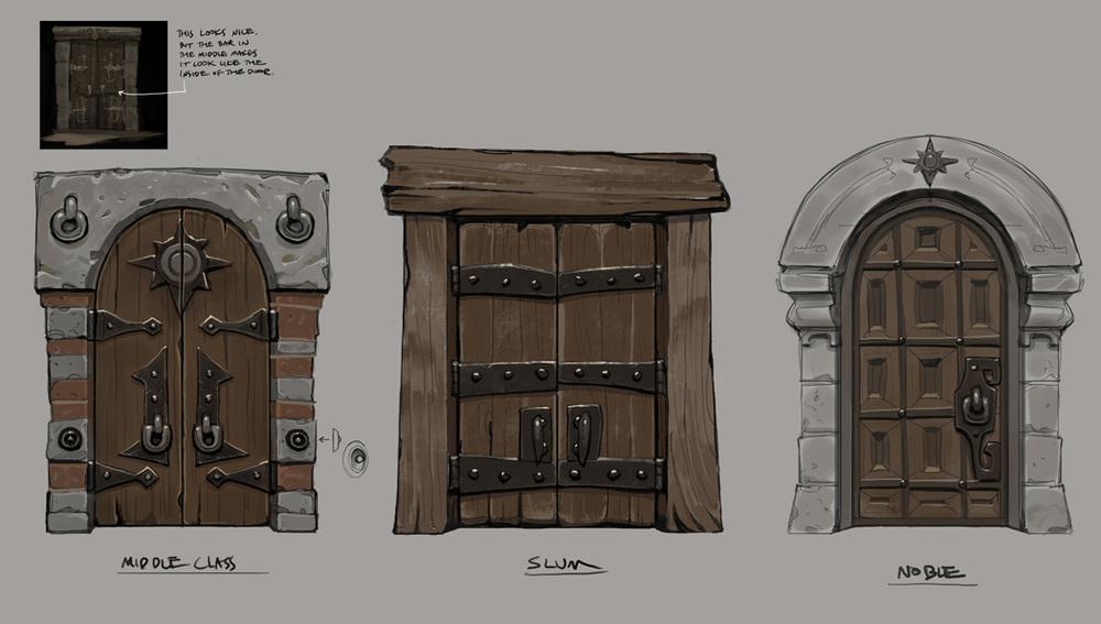 Jonathan Kirtz - Dungeon Hunter 5 - Valenthia Doors.jpg & Dungeon Doors Ff15 u0026 P1 pezcame.com