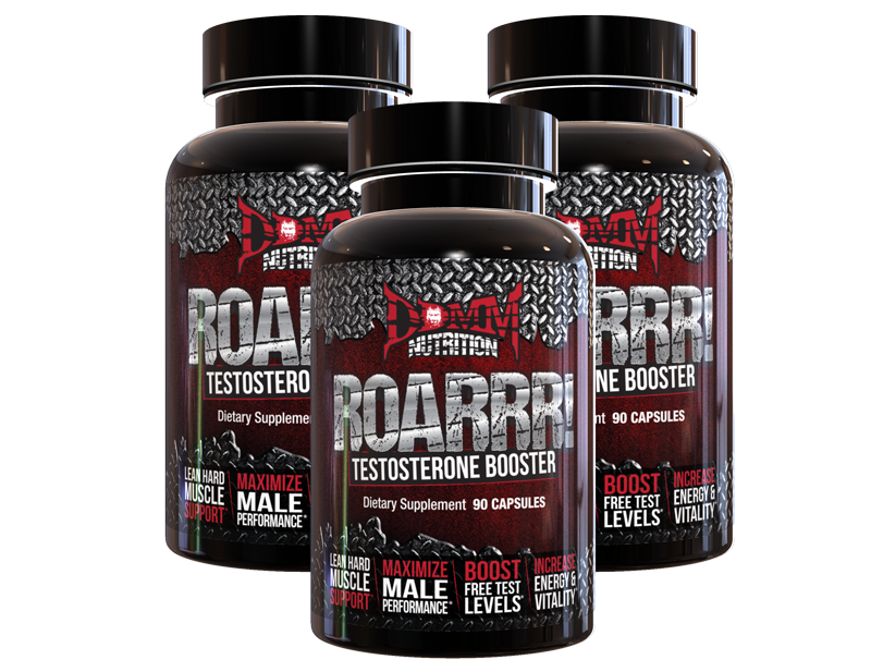 DDMM Nutrition ROARRR Testosterone Booster