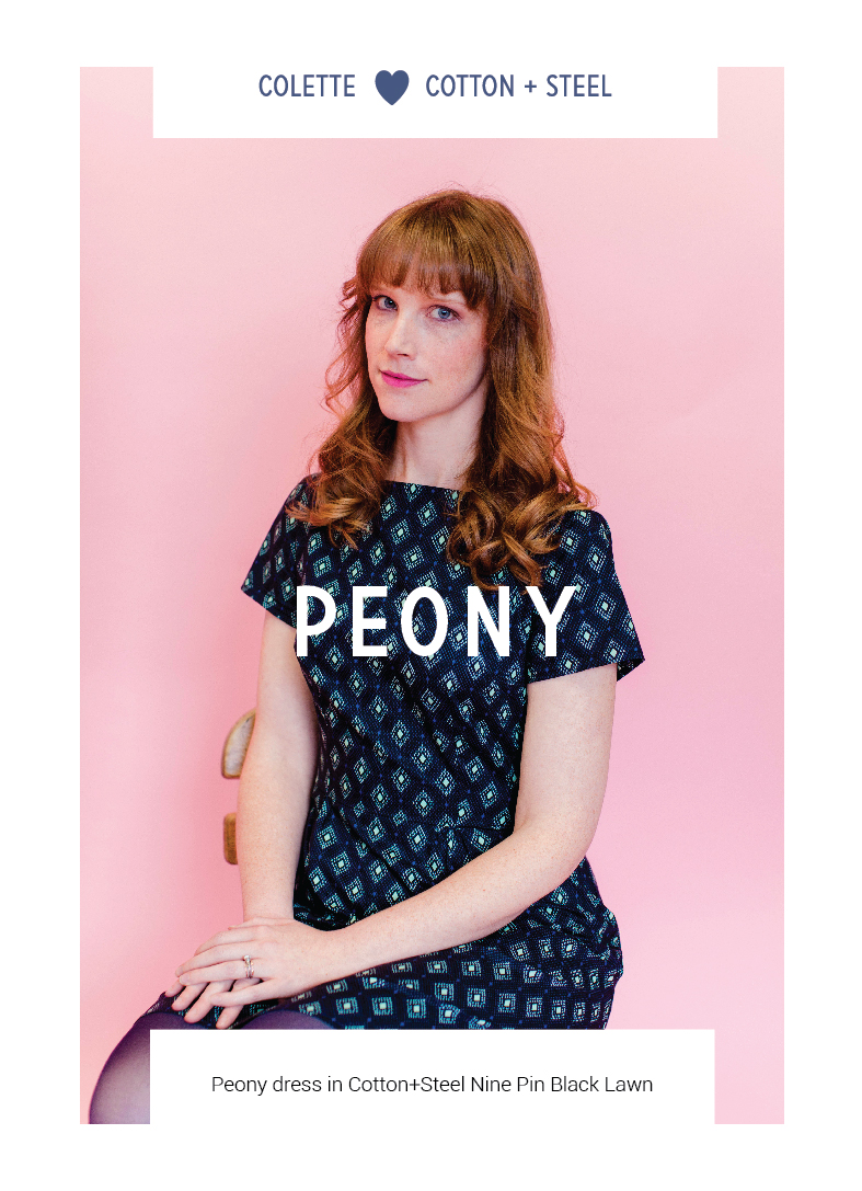 Peony by Colette Patterns via The Crafty Mastermind