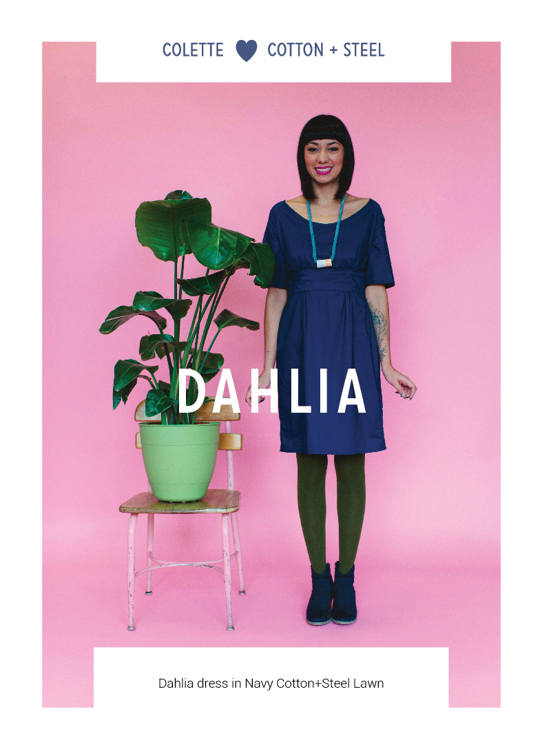 Dahlia by Colette Patterns via The Crafty Mastermind