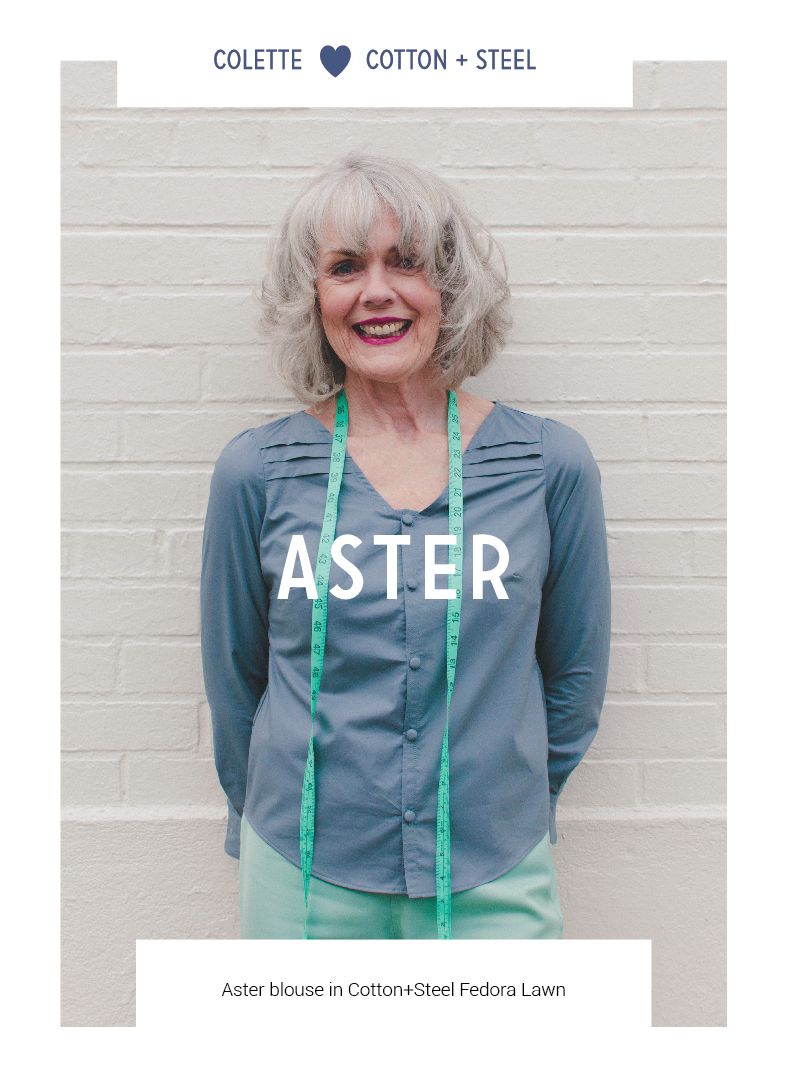 Aster by Colette Patterns via The Crafty Mastermind