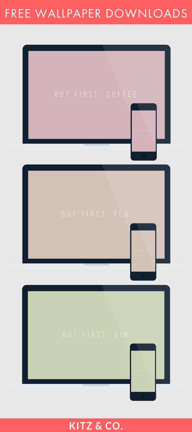 Free Wallpaper + iPhone Wallpaper Downloads | kitzandco.com